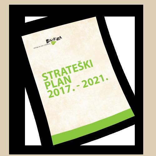 Strateški plan 2017. - 2021.