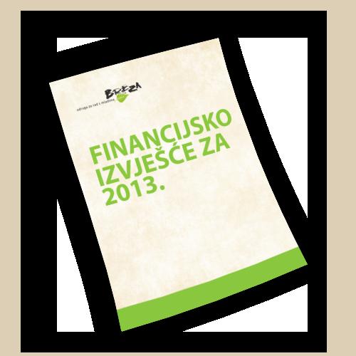 Financijsko izvješće za 2013.