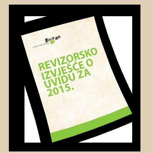 Revizorsko izvješće o uvidu za 2015.