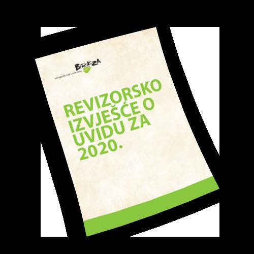 Revizorsko izvješće o uvidu za 2020.